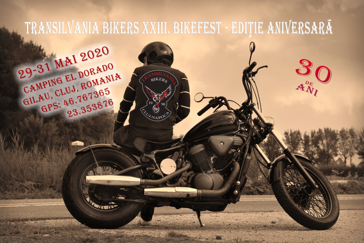<p>Transilvania Bikers XXIII. Bikefest at El Dorado Locația Camping El […]</p>